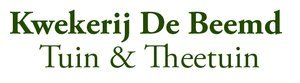 Logo tuincentrum Kwekerij De Beemd - Tuin & Theetuin