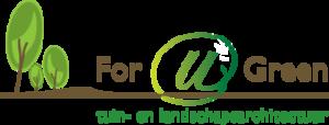 Logo tuincentrum For u Green tuin- en landschapsarchitectuur