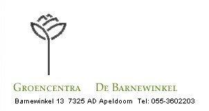 Logo tuincentrum Groencentra De Barnewinkel