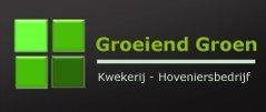 Logo tuincentrum Groeiend Groen