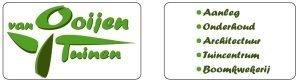 Logo tuincentrum van Ooijen Tuinen