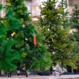 Buy your artificial christmas tree from Costello's Ace Hardware in New Hyde Park