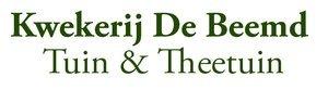 Logo Kwekerij De Beemd - Tuin & Theetuin