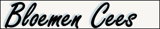 Logo tuincentrum Bloemen Cees