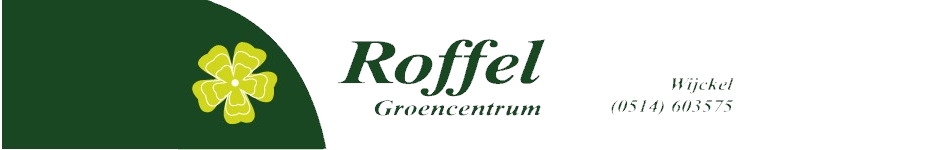 Logo tuincentrum Groencentrum Roffel