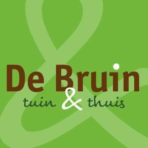 Logo tuincentrum De Bruin Tuin en Thuis