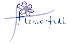 Logo tuincentrum Flowerfull