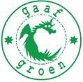 Logo tuincentrum Gaaf Groen pop-up tuincentrum