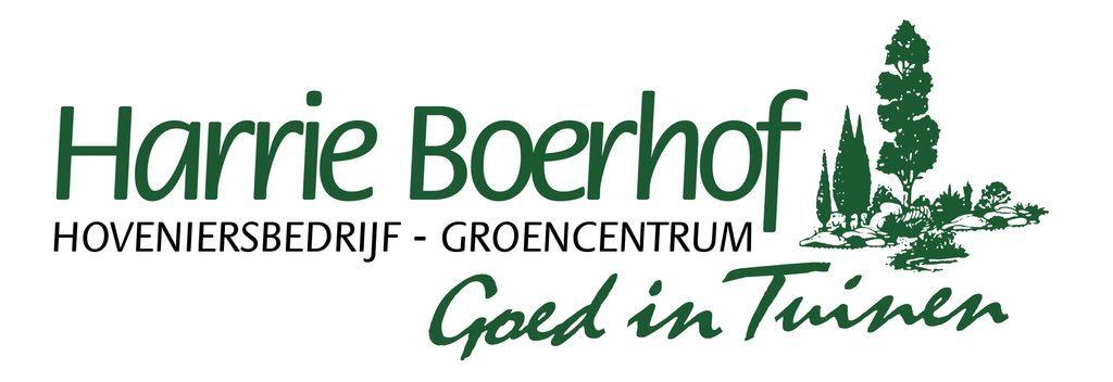 Logo tuincentrum Groencentrum Harrie Boerhof-Hb Groep
