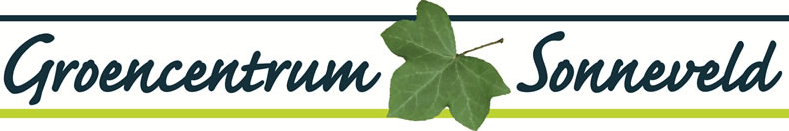 Logo tuincentrum Groencentrum Sonneveld