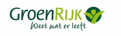 Logo tuincentrum GroenRijk Tilburg