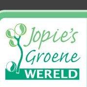 Logo tuincentrum Jopie's Groene Wereld