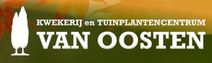Logo tuincentrum Kwekerij en Tuinplantencentrum van Oosten