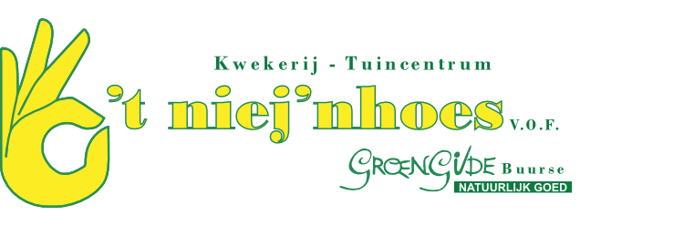 Logo tuincentrum Kwekerij Tuincentrum GroenGilde 't Niej'nhoes