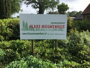 Logo tuincentrum Klaas Nieuwenhuis Hoveniers