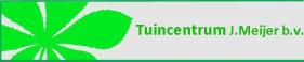 Logo tuincentrum Tuincentrum J. Meijer
