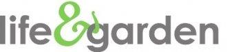 Logo tuincentrum Life & Garden Oostburg