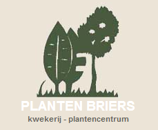 Logo tuincentrum Planten Briers