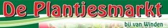 Logo tuincentrum De Plantjesmarkt