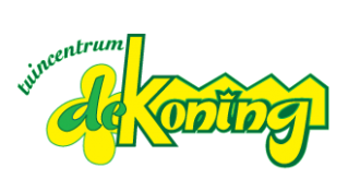 Logo tuincentrum Tuincentrum De Koning - Voor al uw planten