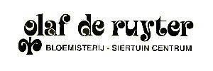 Logo tuincentrum Tuincentrum Olaf de Ruyter