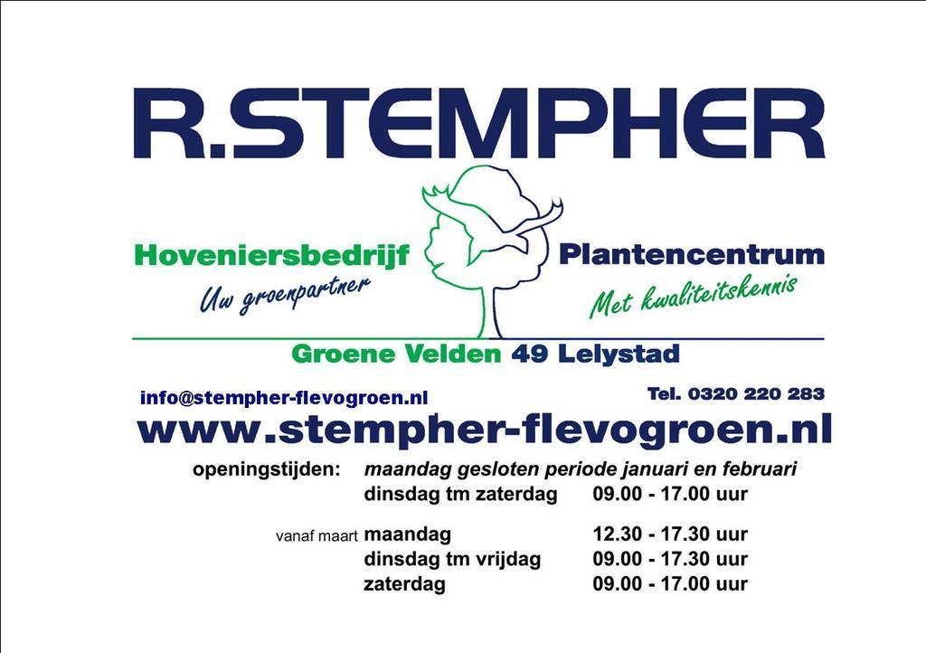Logo Stempher Flevogroen
