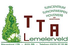 Logo tuincentrum TTA Lemelerveld