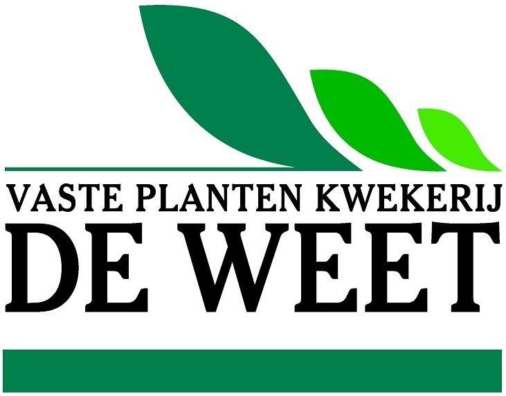 Logo tuincentrum Kwekerij De Weet