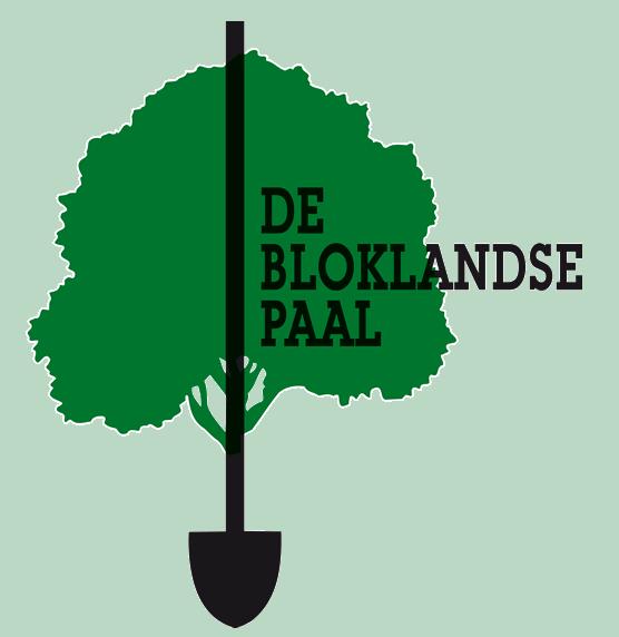 """Logo tuincentrum Tuincentrum """"De Bloklandse Paal"""""""