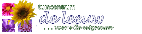 Logo tuincentrum Tuincentrum De Leeuw
