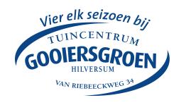 Logo Tuincentrum Gooiers Groen