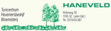 Logo Tuincentrum Haneveld