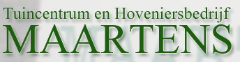 Logo Tuincentrum Maartens