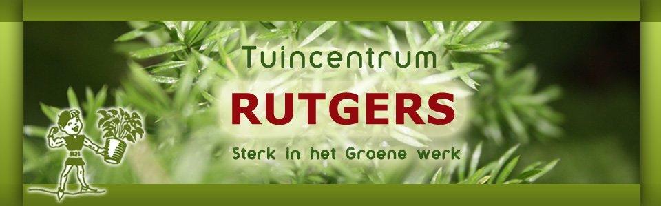 Logo tuincentrum Tuincentrum W. Rutgers