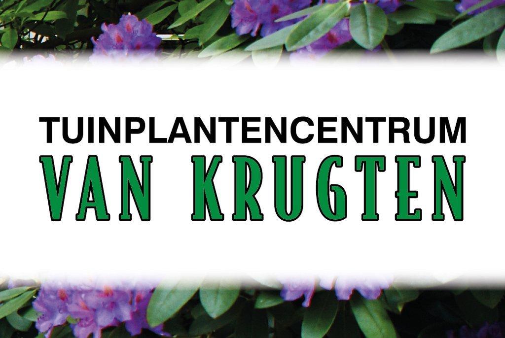 Logo tuincentrum Tuinplantencentrum van Krugten VOF