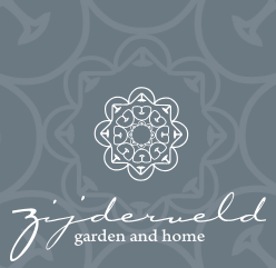 Logo tuincentrum Zijderveld garden and home